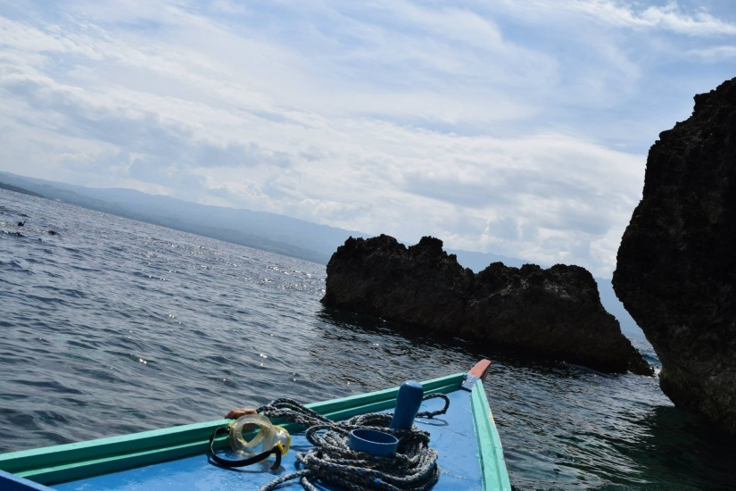 A breathtaking view from Pescador Island.
