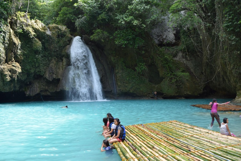 Kawasan Falls. Undoubtedly the most popular attraction in Badian.