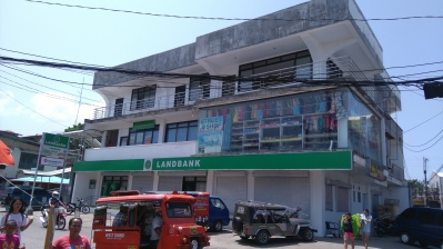 Land Bank of the Philippines in Mambajao, just right across the Public Market.