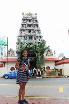 SRI MARIAMMAN TEMPLE - dedicated to the goddess Mariamman, this oldest Hindu temple in Singapore dates back to 1927. Operating Hours: 7am-12pm, 6pm-9pm (daily)